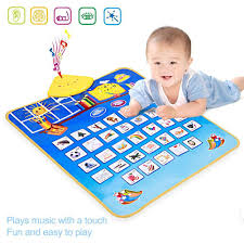 Hot Sale Multifunctional Kids Baby Touch Play Mat Game Carpet ...