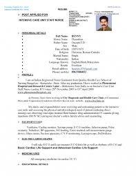 Nursing Resume Format Stirring Staff Nurse Word Gnm Pdf Sc For ...