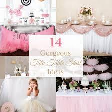 round table skirt ideas tutu wedding beautiful easy great 2019