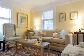 living room white further rug brown leather arm sofa chair tan couch room ideas