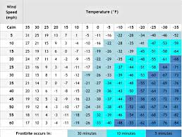 Army Cold Weather Gear Chart Army Cold Weather Uniform Chart