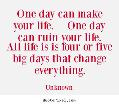 Life Quote Of The Day