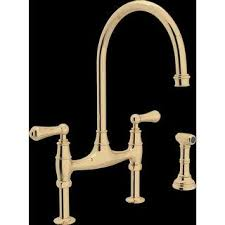 rohl kitchen faucets. Rohl U.4719L-2 Perrin And Rowe Bridge Kitchen Faucet With Side Spray Faucets D
