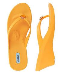 Oka B Tangerine Kelsey Wedge Sandal Women