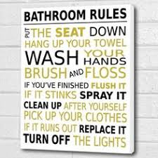 bathroom rules wall art box canvas magenta black a3 12x16 inch amazon uk kitchen home on bathroom wall art uk amazon with pin on box canvas prints pinterest bathroom rules wall canvas