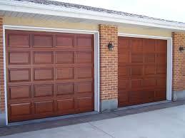 white wood garage door. Solid Brown Wooden Costco Garage Door With White Trim For Best Idea Wood O