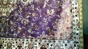 purple oriental rug carpet rug silk wool blend hand knotted purple violet pink pink purple persian purple oriental rug
