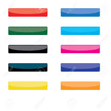 Collection 2 Of Coloured Blank Website Buttons