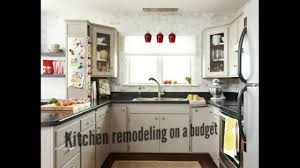 Remodeling Kitchen On A Budget Kitchen Remodeling On A Budget Youtube