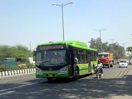pollution levels dip on car day in delhi news eco delhi bus dtc