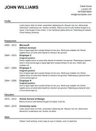 Us Resume Template Amazing Free Online Resume Templates Printable Us Template In French teranco
