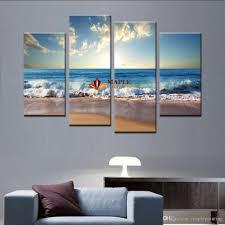 cute beach canvas wall art 0