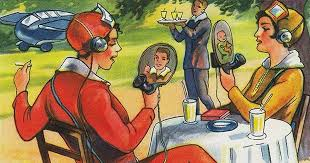Vintage Illustrations 5 Vintage Illustrations Of The Future That Have Become A Reality