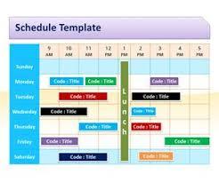 calendar template for powerpoint schedule ppt delli beriberi co