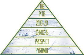 Canucks Prospect Depth Chart The Vancouver Canucks 2019 20 Prospect Pyramid Vancouver