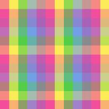 Checkered Design Cute Colorful Checkered Pattern Free Clip Art