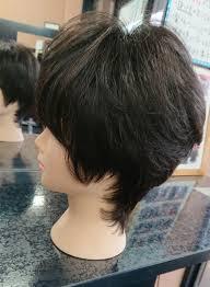 ナチュラルカラーのショートヘア メディケアサロン秋田 長澤さん