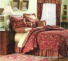 Country Quilts Bedding – co-nnect.me & ... Red Gold Sage King Quilt Set French Country Caspienne Stripe Floral  Paisley French Country Patchwork Quilted ... Adamdwight.com