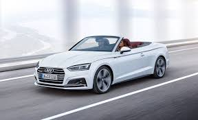 2018 audi cars. plain audi 2018 audi a5s5 cabriolet wide open in audi cars
