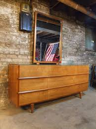American Of Martinsville Bedroom Furniture Mid Century Chicago American Of Martinsville Walnut Lowboy