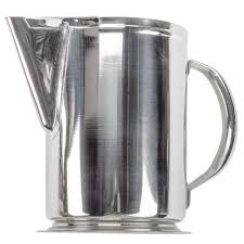 qt stainless steel water pitcher