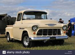 Truck chevy 1955 truck : 1955 Chevy Stepside Pickup Truck Stock Photo, Royalty Free Image ...