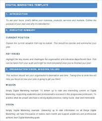 Marketing Planner Excel Media Planner Template Digital Plan Excel Strand Direction