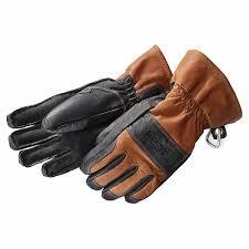 Hestra Falt Guide Glove Brown Black