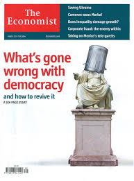 how to make democracy work from ideas to structured action  the economist what is gone wrong dem title picture