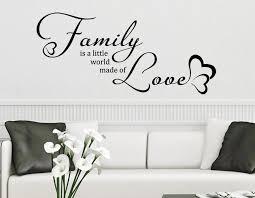 Wandtattoo Family Is A Little World Made Of Love Wandtattoode