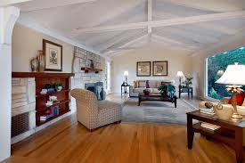 how to decorate a large wall with vaulted ceilings simple