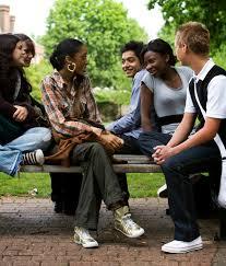 Behavior group support teen