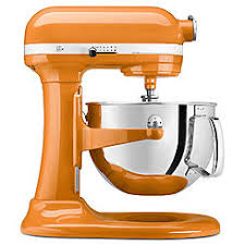 S KitchenAid KP26M1XTG Professional 600 Series 6 Quart Stand Mixer Tangerine