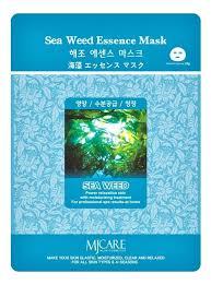 <b>Маска тканевая Морские</b> водоросли MJ Care Sea Weed Essence ...