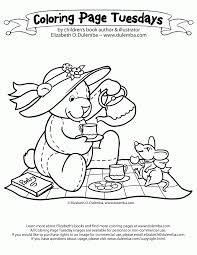 Small Picture Tea Party Coloring Page