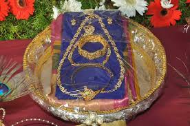 Saree Tray Decoration tray decoration Chittara 21