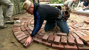 patio designs diy brick