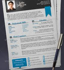 How To Make Resume In Photoshop Professional Resume Templates
