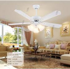 Living Room Ceiling Fan Unique Online Cheap Retro White LED Lights Chandelier Fan Minimalist Living