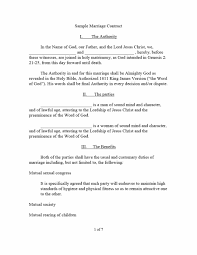 Marriage Contract Template 24 Marriage Contract Templates [Standart Islamic Jewish 1