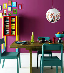 dining room colorful dining sets modern decorating ideas bright tables fabric chairs coloured table centerpiece colourful