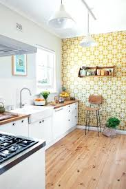 kitchen wallpaper whimsy yellow and cream geometric wallpaper for an accent wall in the kitchen kitchen wallpaper borders coffee