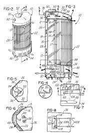 patent us6351602 upright radiant electric heating appliance patent drawing