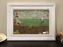 lighthouse sea glass mosaics how to