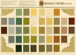 historic exterior paint colorsHistoric Paint Colors