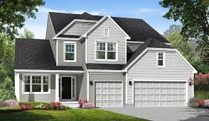 First Floor Master Rockford Homes Columbus Ohio. Elevation C  Shingle