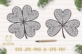More than 400 vector icons, collected in 27 sets for download free svg icons and use them in your projects. Free Svgs Download St Patricks Day Svg Clover Leaf Clover Leaf Tattoo Free Design Resources