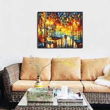 2018 canvas art paintings scenery oil painting unframed art on the road there are you living room hand painted design from happyfamilyalike 6 12 dhgate