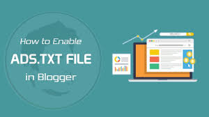 how to enable ads txt file on ger