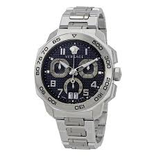 versace watches jomashop versace dylos blue dial men s chronograph watch